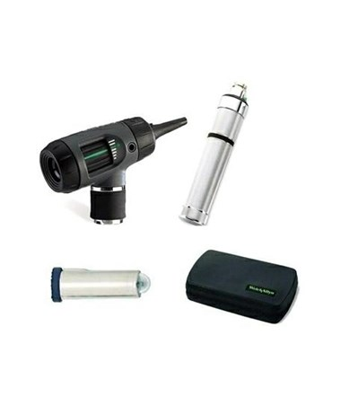 3.5v MacroView™/Pneumatic Otoscope with Optional Throat Illuminator WEL20270