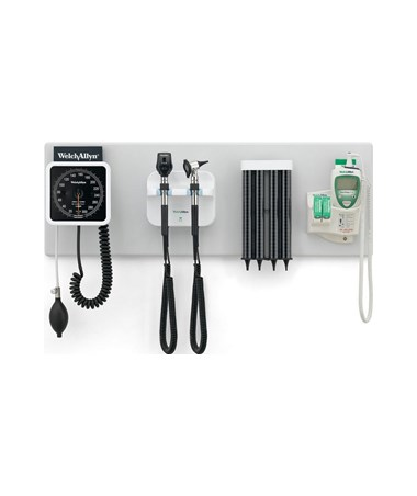 777 Green Series Integrated Wall System with Mounting Screws for Spot Vital Signs®/Spot Vital Signs® LXi Devices WEL77794-MLXI