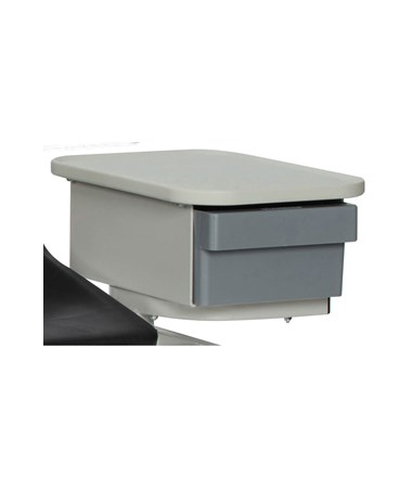 WIN2570- Blood Drawing Plastic Chair with Cabinet - New Style Drawer