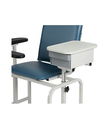 WIN2572 Padded Blood Drawing Chair with Storage Drawer - Storage Drawer Closed