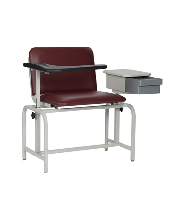 Extra Large Padded Blood Drawing Chair with Storage Drawer 2574WIN