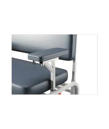 Extra Wide Bariatric Blood Drawing Chair - Standard Short Arm